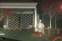 projekty ogrodów, Biskupiec