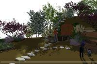 ogród, winiarnia